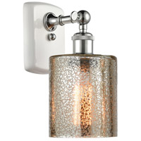 Innovations Lighting 516-1W-WPC-G116-LED Cobbleskill LED 5 inch White And Polished Chrome Sconce Wall Light Ballston