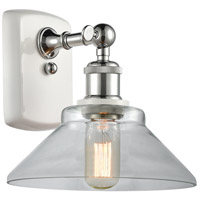 Innovations Lighting 516-1W-WPC-G132-LED Orwell LED 9 inch White And Polished Chrome Sconce Wall Light Ballston