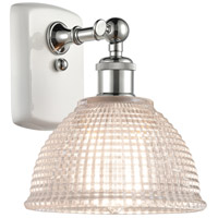 Innovations Lighting 516-1W-WPC-G422-LED Arietta LED 8 inch White And Polished Chrome Sconce Wall Light Ballston
