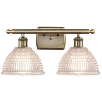 Innovations Lighting 516-2W-AB-G422 Arietta 2 Light 16 inch Antique Brass Bath Vanity Light Wall Light, Ballston
