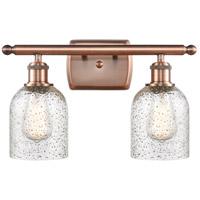 Innovations Lighting 516-2W-AC-G259-LED Caledonia LED 16 inch Antique Copper Bath Vanity Light Wall Light Ballston