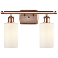 Antique Copper Clymer Bathroom Vanity Lights