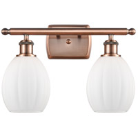 Innovations Lighting 516-2W-AC-G81 Eaton 2 Light 16 inch Antique Copper Bath Vanity Light Wall Light Ballston