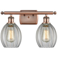 Innovations Lighting 516-2W-AC-G82 Eaton 2 Light 16 inch Antique Copper Bath Vanity Light Wall Light Ballston