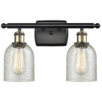 Innovations Lighting 516-2W-BAB-G259-LED Caledonia LED 16 inch Black Antique Brass Bath Vanity Light Wall Light, Ballston