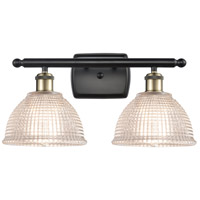 Innovations Lighting 516-2W-BAB-G422-LED Arietta LED 16 inch Black Antique Brass Bath Vanity Light Wall Light Ballston
