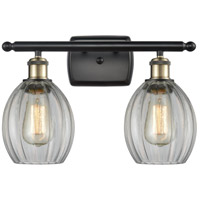 Innovations Lighting 516-2W-BAB-G82 Eaton 2 Light 16 inch Black Antique Brass Bath Vanity Light Wall Light Ballston