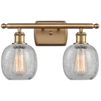 Innovations Lighting 516-2W-BB-G105 Belfast 2 Light 16 inch Brushed Brass Bath Vanity Light Wall Light Ballston