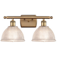 Innovations Lighting 516-2W-BB-G422 Arietta 2 Light 16 inch Brushed Brass Bath Vanity Light Wall Light, Ballston