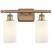 Brushed Brass Clymer Bathroom Vanity Lights