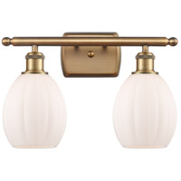 Innovations Lighting 516-2W-BB-G81 Eaton 2 Light 16 inch Brushed Brass Bath Vanity Light Wall Light Ballston