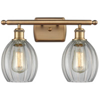 Innovations Lighting 516-2W-BB-G82 Eaton 2 Light 16 inch Brushed Brass Bath Vanity Light Wall Light Ballston