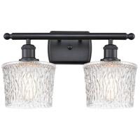 Innovations Lighting 516-2W-BK-G402 Niagra 2 Light 16 inch Matte Black Bath Vanity Light Wall Light Ballston