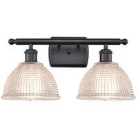 Innovations Lighting 516-2W-BK-G422 Arietta 2 Light 16 inch Matte Black Bath Vanity Light Wall Light Ballston