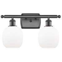 Innovations Lighting 516-2W-OB-G101 Belfast 2 Light 16 inch Oil Rubbed Bronze Bath Vanity Light Wall Light, Ballston