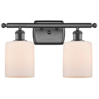 Innovations Lighting 516-2W-OB-G111 Cobbleskill 2 Light 16 inch Oil Rubbed Bronze Bath Vanity Light Wall Light, Ballston