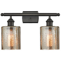 Cobbleskill LED 16 inch Oil Rubbed Bronze Bathroom Fixture Wall Light