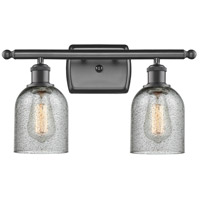 Innovations Lighting 516-2W-OB-G257-LED Caledonia LED 16 inch Oil Rubbed Bronze Bathroom Fixture Wall Light