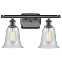 Innovations Lighting 516-2W-OB-G2812-LED Hanover LED 16 inch Oil Rubbed Bronze Bath Vanity Light Wall Light Ballston