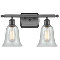 Innovations Lighting 516-2W-OB-G2812 Hanover 2 Light 16 inch Oil Rubbed Bronze Bath Vanity Light Wall Light, Ballston