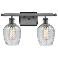 Innovations Lighting 516-2W-OB-G292-LED Salina LED 16 inch Oil Rubbed Bronze Bath Vanity Light Wall Light Ballston
