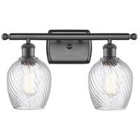 Innovations Lighting 516-2W-OB-G292-LED Salina LED 16 inch Oil Rubbed Bronze Bath Vanity Light Wall Light, Ballston