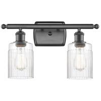 Innovations Lighting 516-2W-OB-G342-LED Hadley LED 16 inch Oil Rubbed Bronze Bath Vanity Light Wall Light, Ballston