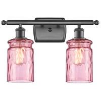 Innovations Lighting 516-2W-OB-G352-LIL Candor 2 Light 16 inch Oil Rubbed Bronze Bath Vanity Light Wall Light Ballston
