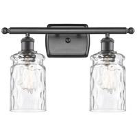 Innovations Lighting 516-2W-OB-G352-LED Candor LED 16 inch Oil Rubbed Bronze Bath Vanity Light Wall Light, Ballston