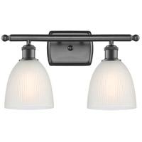 Innovations Lighting 516-2W-OB-G381-LED Castile LED 16 inch Oil Rubbed Bronze Bath Vanity Light Wall Light, Ballston