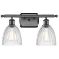 Innovations Lighting 516-2W-OB-G382-LED Castile LED 16 inch Oil Rubbed Bronze Bath Vanity Light Wall Light, Ballston