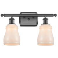 Innovations Lighting 516-2W-OB-G391-LED Ellery LED 16 inch Oil Rubbed Bronze Bath Vanity Light Wall Light, Ballston