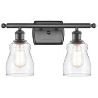 Innovations Lighting 516-2W-OB-G392-LED Ellery LED 16 inch Oil Rubbed Bronze Bath Vanity Light Wall Light, Ballston