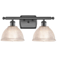 Innovations Lighting 516-2W-OB-G422 Arietta 2 Light 16 inch Oil Rubbed Bronze Bath Vanity Light Wall Light, Ballston
