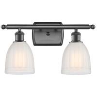 Innovations Lighting 516-2W-OB-G441-LED Brookfield LED 16 inch Oil Rubbed Bronze Bath Vanity Light Wall Light, Ballston