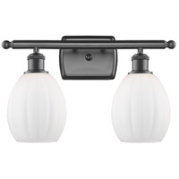 Innovations Lighting 516-2W-OB-G81 Eaton 2 Light 16 inch Oil Rubbed Bronze Bath Vanity Light Wall Light, Ballston