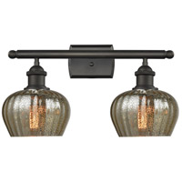 Fenton LED 16 inch Oil Rubbed Bronze Bathroom Fixture Wall Light
