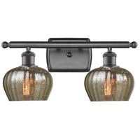 Innovations Lighting 516-2W-OB-G96 Fenton 2 Light 16 inch Oiled Rubbed Bronze Bathroom Fixture Wall Light