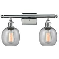 Innovations Lighting 516-2W-PC-G104-LED Belfast LED 16 inch Polished Chrome Bathroom Fixture Wall Light