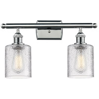 Innovations Lighting 516-2W-PC-G112 Cobleskill 2 Light 16 inch Polished Chrome Bathroom Fixture Wall Light
