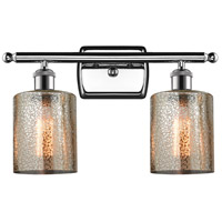 Innovations Lighting 516-2W-PC-G116 Cobleskill 2 Light 16 inch Polished Chrome Bathroom Fixture Wall Light