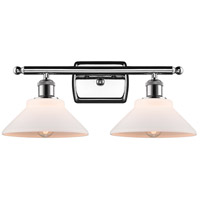 Innovations Lighting 516-2W-PC-G131-LED Orwell LED 18 inch Polished Chrome Bath Vanity Light Wall Light Ballston