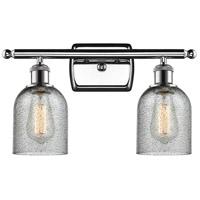 Innovations Lighting 516-2W-PC-G257-LED Caledonia LED 16 inch Polished Chrome Bathroom Fixture Wall Light