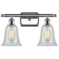Innovations Lighting 516-2W-PC-G2811 Hanover 2 Light 16 inch Polished Chrome Bath Vanity Light Wall Light, Ballston