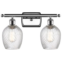 Glass Salina Bathroom Vanity Lights