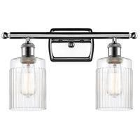 Innovations Lighting 516-2W-PC-G342-LED Hadley LED 16 inch Polished Chrome Bath Vanity Light Wall Light, Ballston