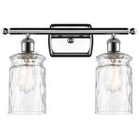 Innovations Lighting 516-2W-PC-G352-LED Candor LED 16 inch Polished Chrome Bath Vanity Light Wall Light, Ballston