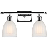Innovations Lighting 516-2W-PC-G441-LED Brookfield LED 16 inch Polished Chrome Bath Vanity Light Wall Light Ballston