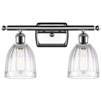Innovations Lighting 516-2W-PC-G442-LED Brookfield LED 16 inch Polished Chrome Bath Vanity Light Wall Light Ballston