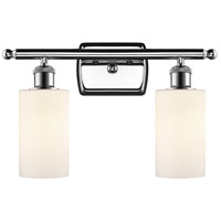 Polished Chrome Clymer Bathroom Vanity Lights